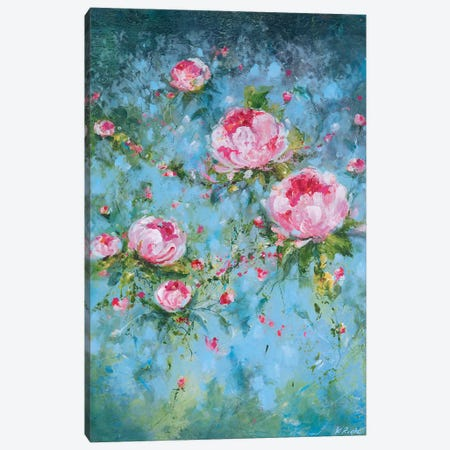Summers Song Canvas Print #RTZ27} by Kathleen Rietz Canvas Wall Art