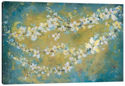 Sun Blooms Canvas Art Print