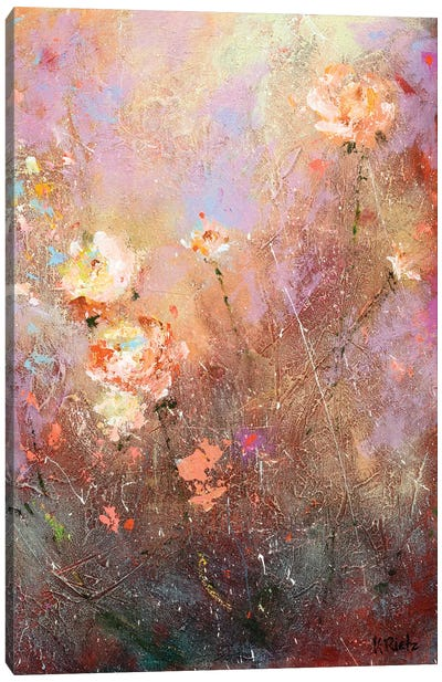 All Aglow In Autumn Canvas Art Print
