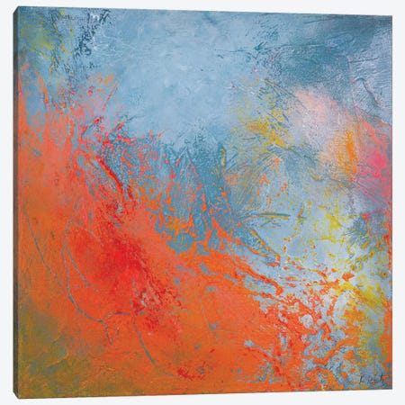 Waves Of Love Canvas Print #RTZ38} by Kathleen Rietz Canvas Art