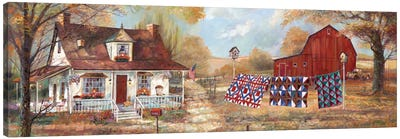 Afternoon Quilting Canvas Art Print