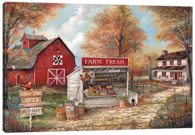 Farm Fresh Canvas Print #RUA101