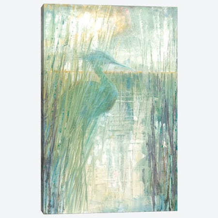 Morning Egret I Canvas Print #RUA104} by Ruane Manning Canvas Wall Art