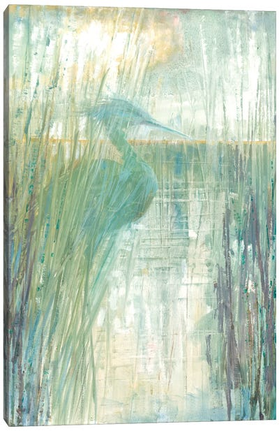 Morning Egret I Canvas Art Print