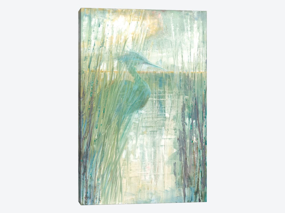 Morning Egret I by Ruane Manning 1-piece Art Print