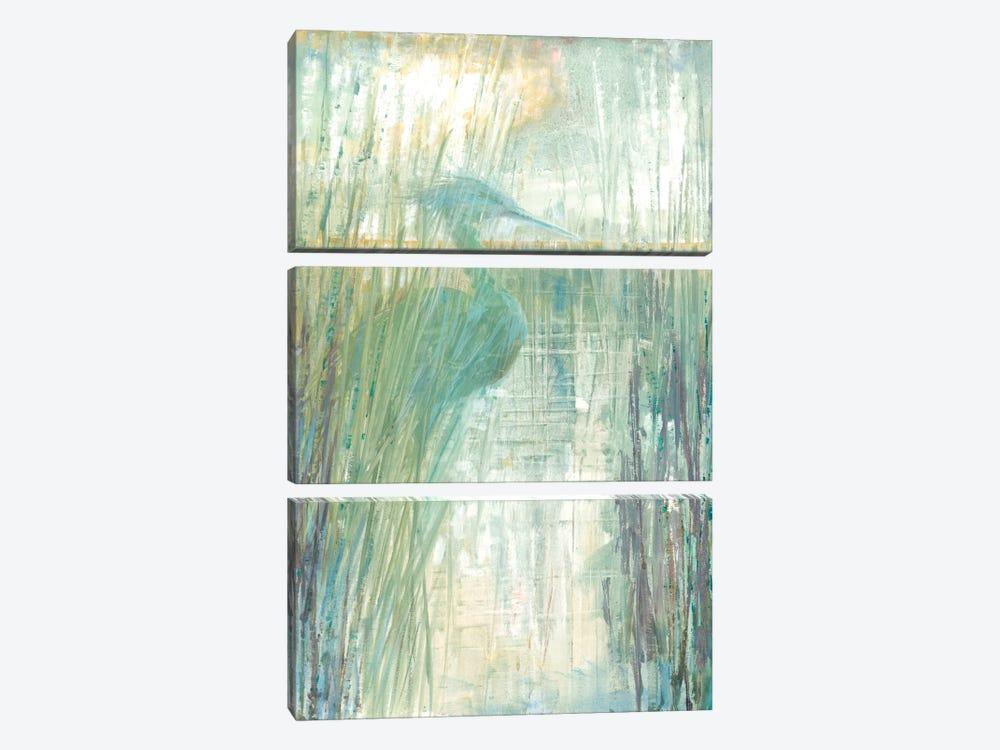 Morning Egret I by Ruane Manning 3-piece Art Print