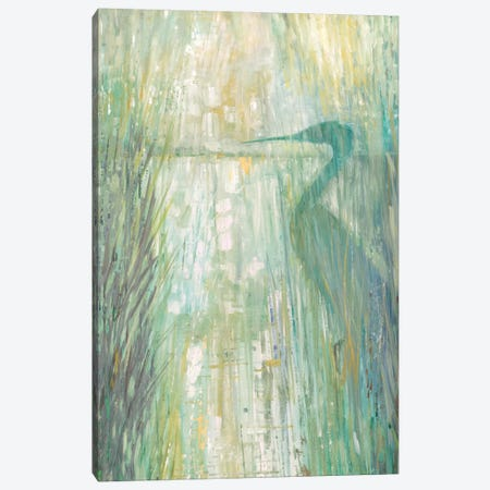 Morning Egret II Canvas Print #RUA105} by Ruane Manning Canvas Artwork