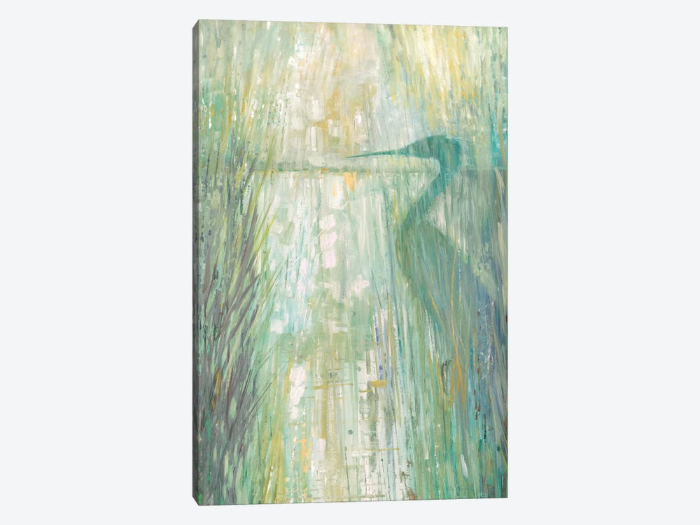 Morning Egret II by Ruane Manning 1-piece Canvas Wall Art