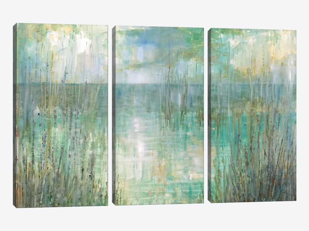 Morning Reflection by Ruane Manning 3-piece Canvas Print