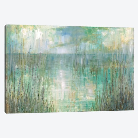 Morning Reflection Canvas Print #RUA106} by Ruane Manning Canvas Artwork