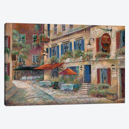 La Chasse Galerie Canvas Print #RUA110} by Ruane Manning Canvas Wall Art