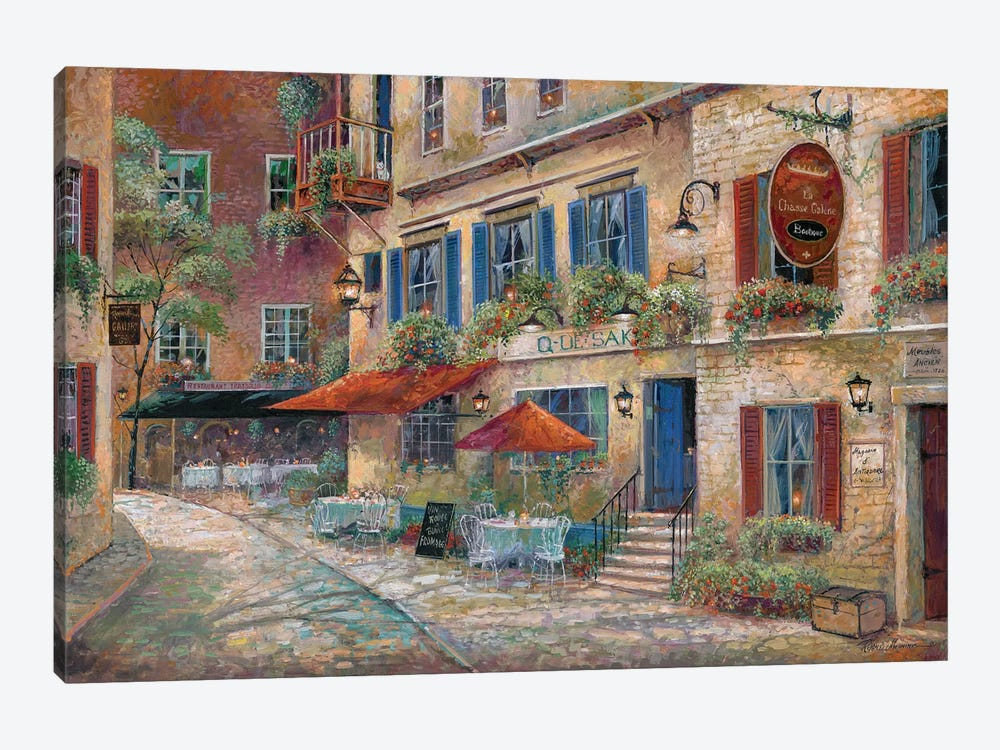 La Chasse Galerie by Ruane Manning 1-piece Canvas Art