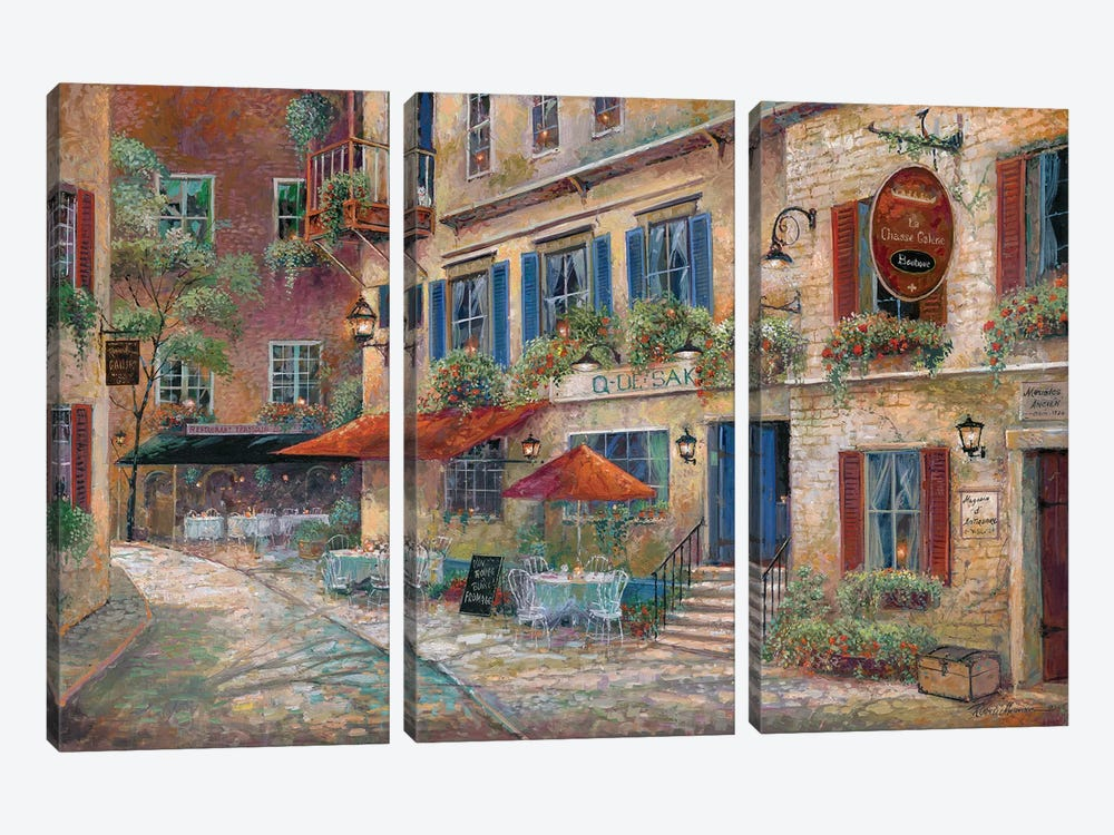 La Chasse Galerie by Ruane Manning 3-piece Canvas Artwork