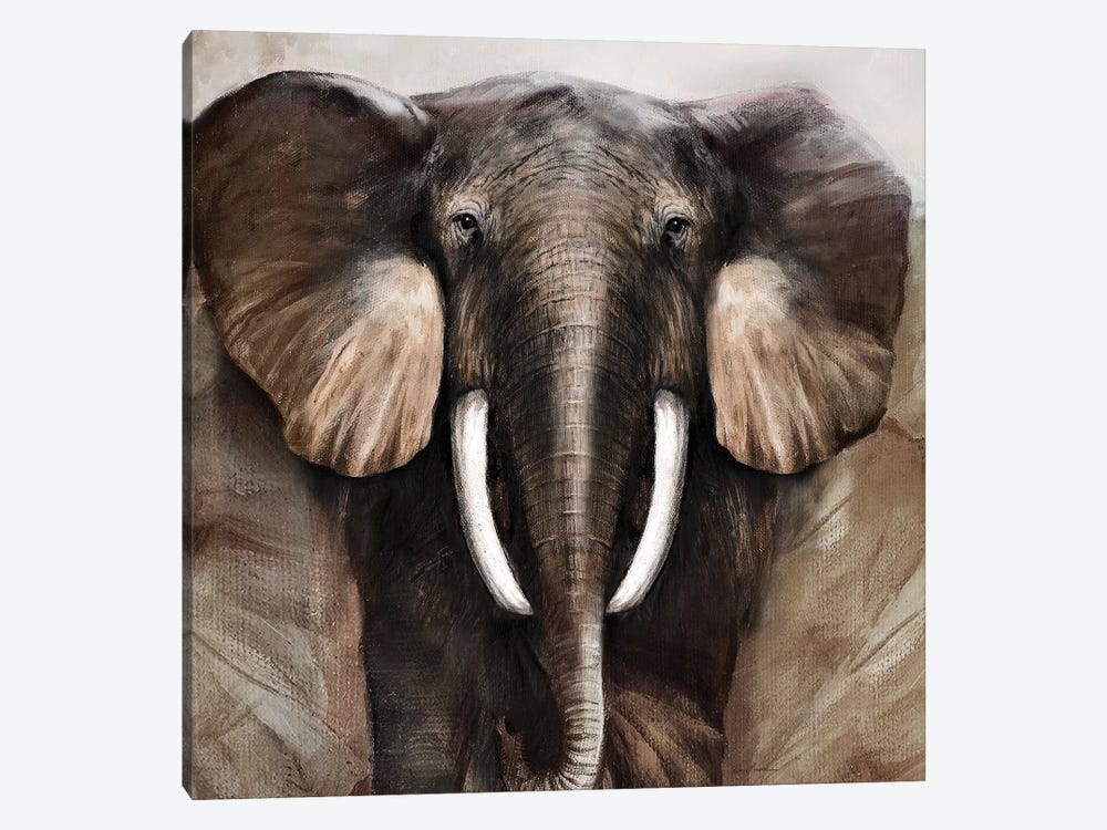 Majestic Encounter by Ruane Manning 1-piece Canvas Art Print