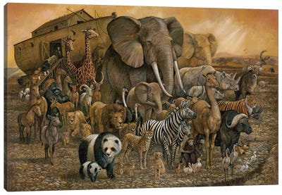 Noah's Ark Canvas Art Print