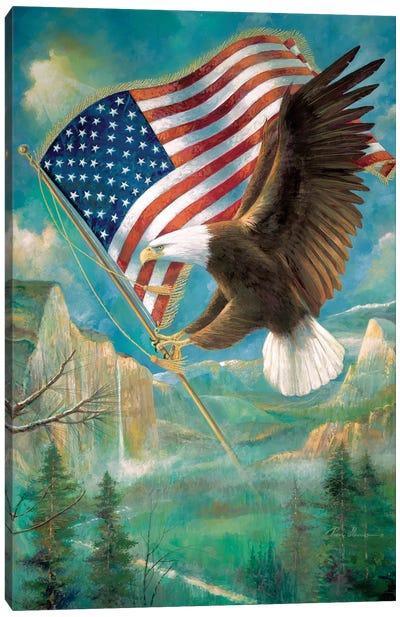 Pledge Of Allegiance Canvas Art Print
