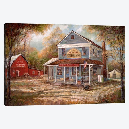 Richland General Store Canvas Print #RUA114} by Ruane Manning Canvas Print