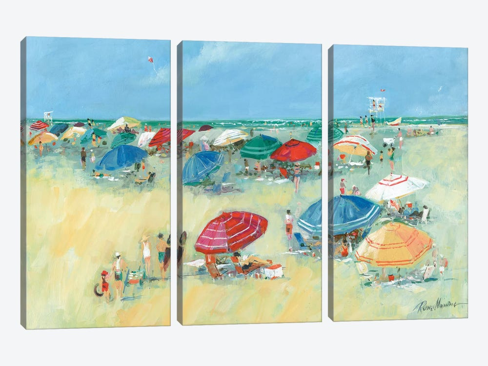 The Shore I by Ruane Manning 3-piece Canvas Wall Art