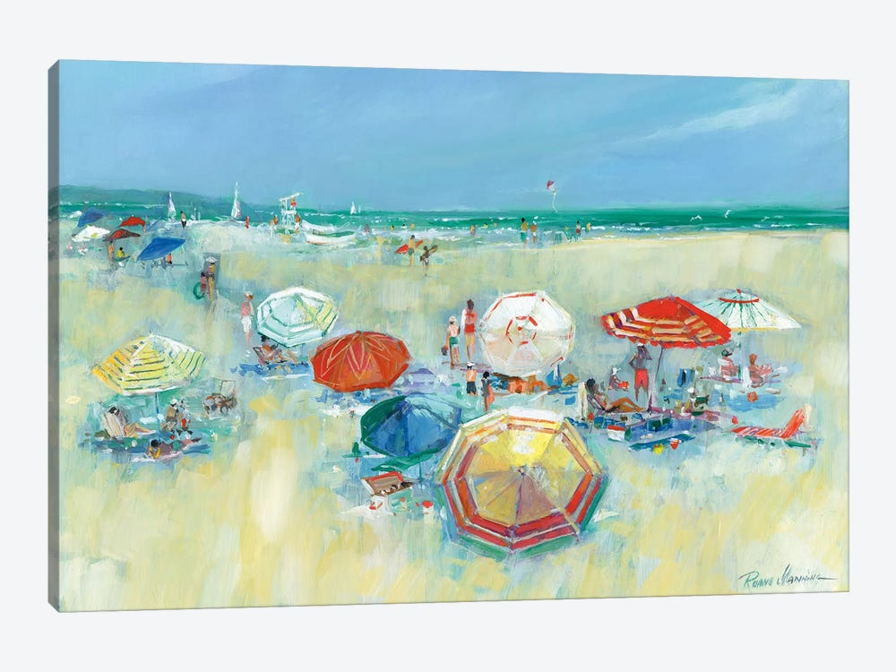 The Shore II by Ruane Manning 1-piece Canvas Art Print
