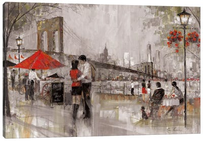 New York Romance Canvas Art Print