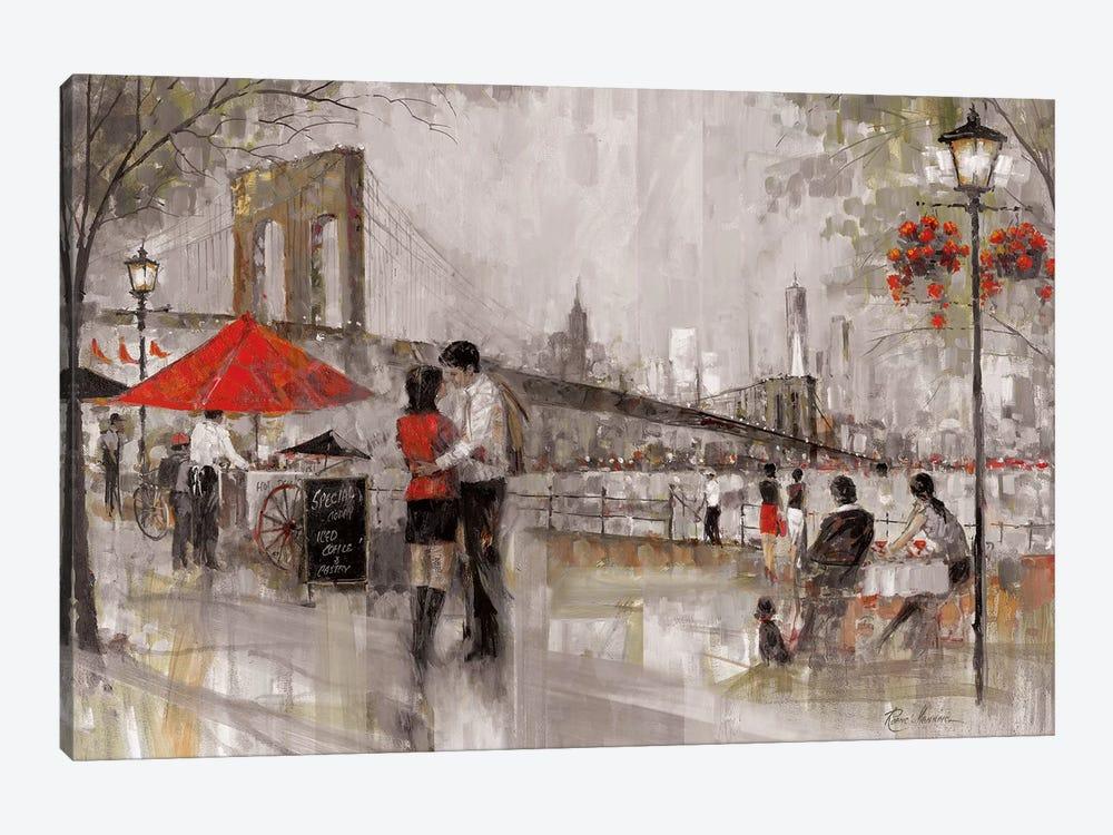 New York Romance by Ruane Manning 1-piece Canvas Art Print