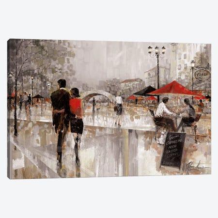 Riverwalk Charm II Canvas Print #RUA127} by Ruane Manning Canvas Art