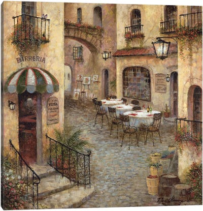 Buon Appetito I Canvas Art Print