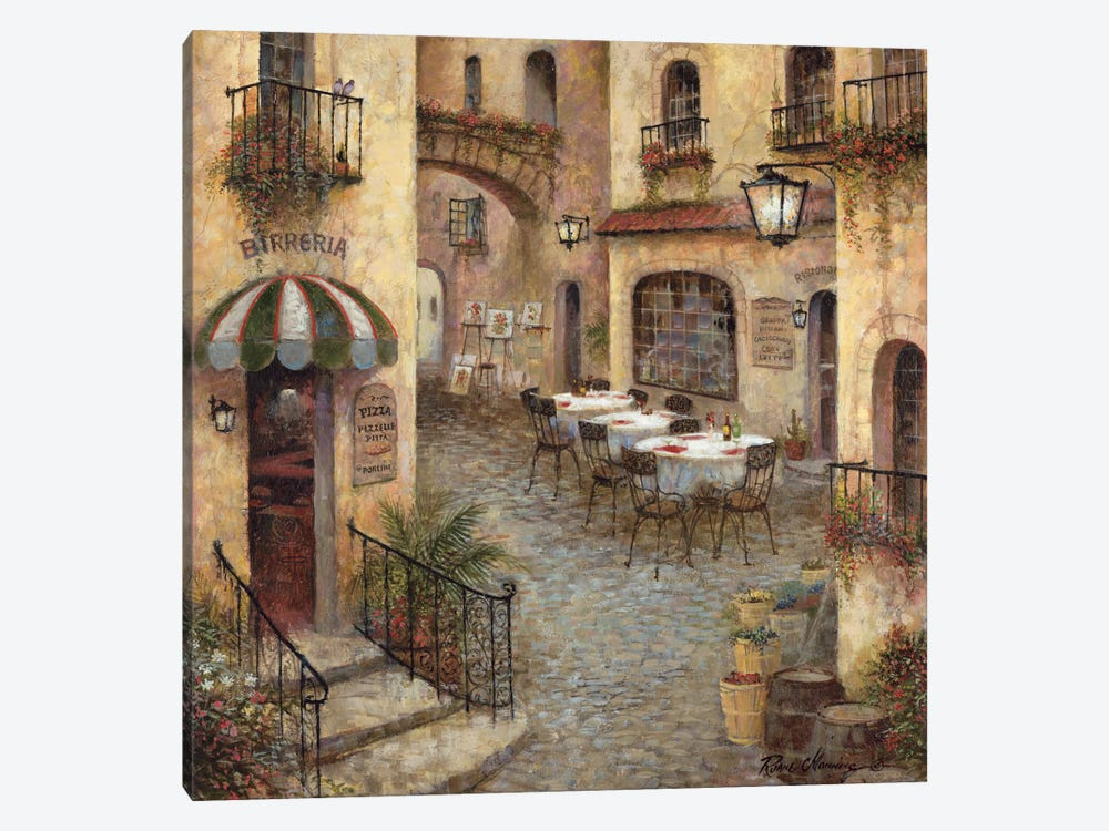 Buon Appetito I by Ruane Manning 1-piece Canvas Print