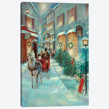 Christmas Memories Canvas Print #RUA131} by Ruane Manning Canvas Artwork