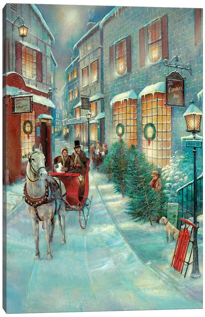 Christmas Memories Canvas Art Print