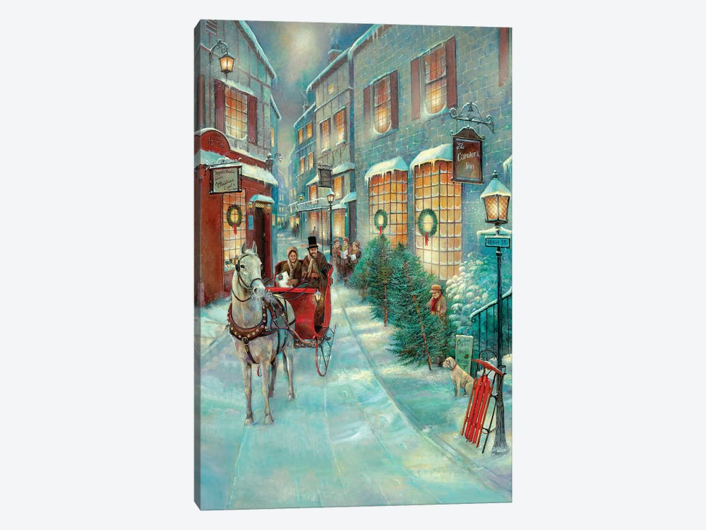 Christmas Memories by Ruane Manning 1-piece Canvas Art Print