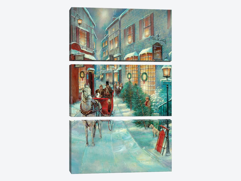 Christmas Memories by Ruane Manning 3-piece Art Print
