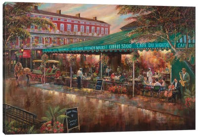 Café Du Monde Canvas Art Print