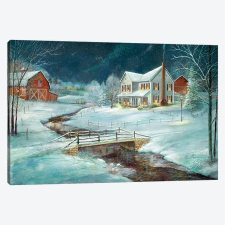Winter Serenity Canvas Print #RUA140} by Ruane Manning Canvas Print