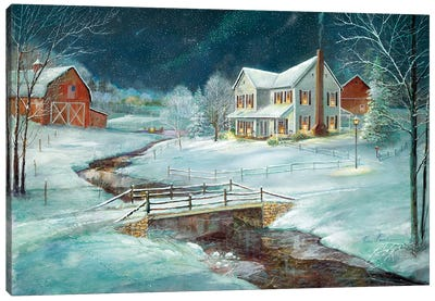 Winter Serenity Canvas Art Print