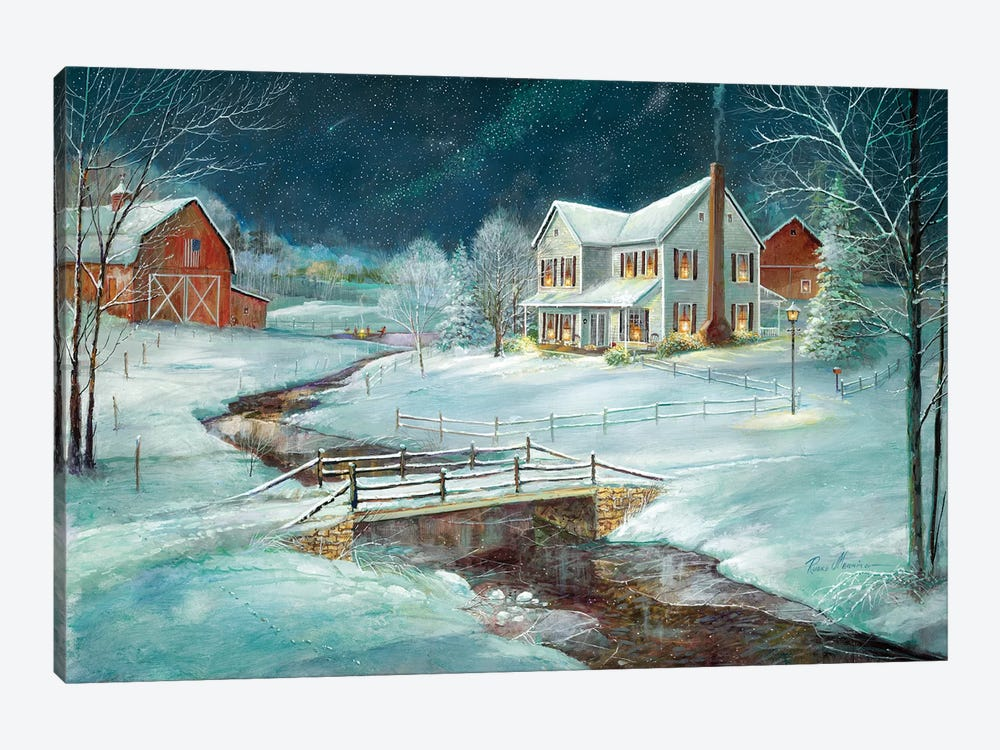 Winter Serenity by Ruane Manning 1-piece Canvas Print
