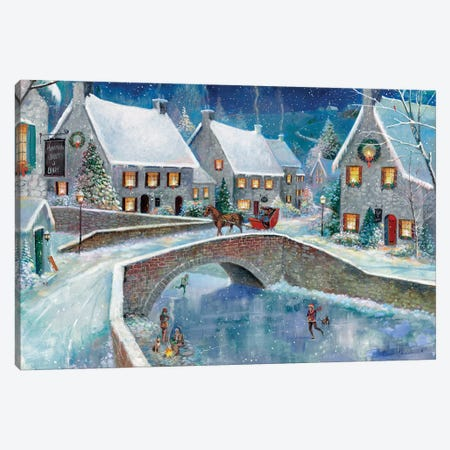 Warm Winter Wonderland Canvas Print #RUA143} by Ruane Manning Canvas Print