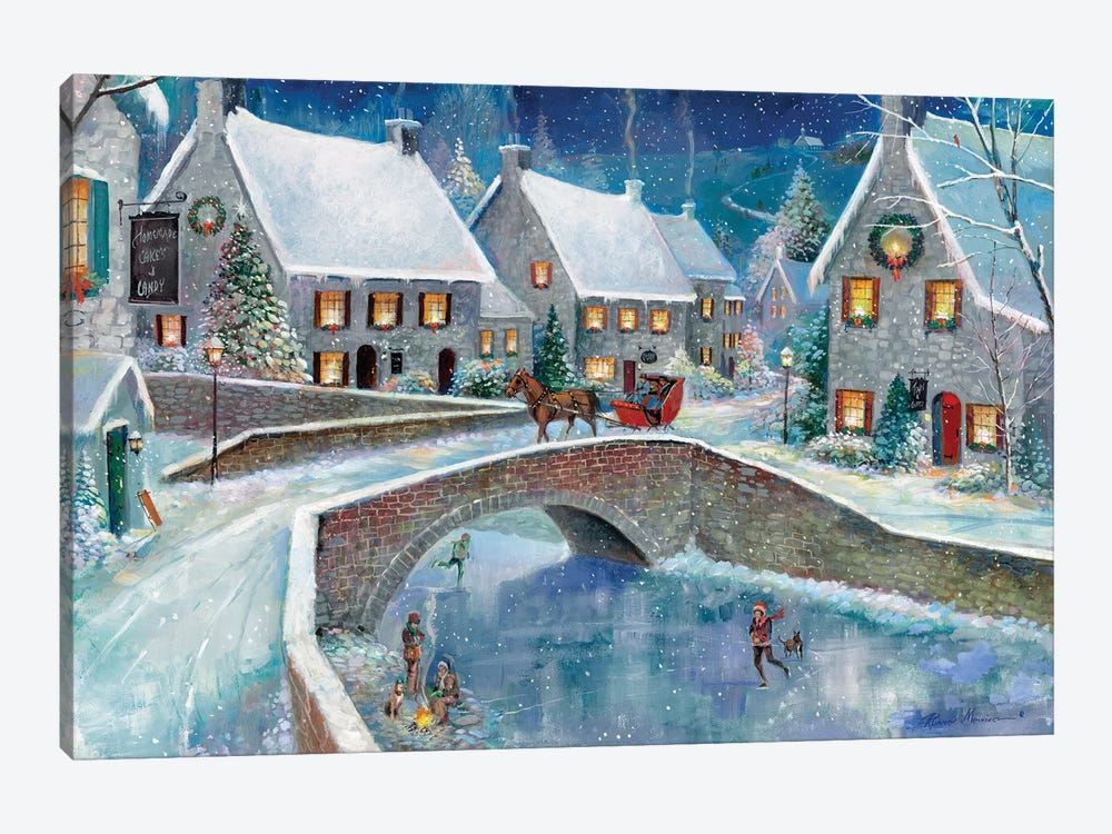 Warm Winter Wonderland by Ruane Manning 1-piece Canvas Wall Art
