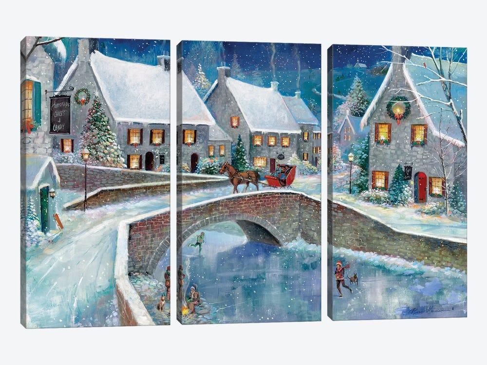 Warm Winter Wonderland by Ruane Manning 3-piece Canvas Art