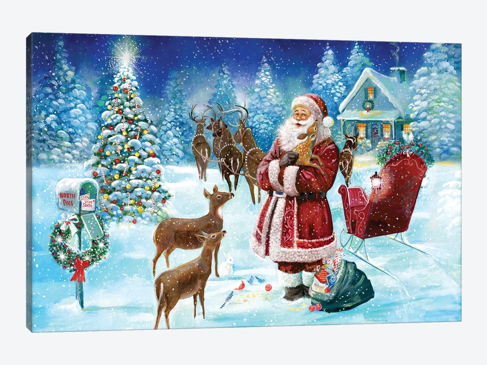 North Pole by Ruane Manning 1-piece Canvas Print