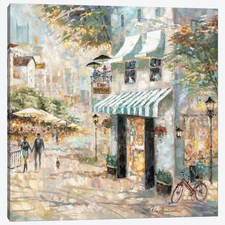 Rooftop Café Detail II Canvas Print #RUA148} by Ruane Manning Canvas Art Print