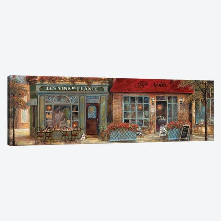 L'Ambiance I Canvas Print #RUA152} by Ruane Manning Canvas Art