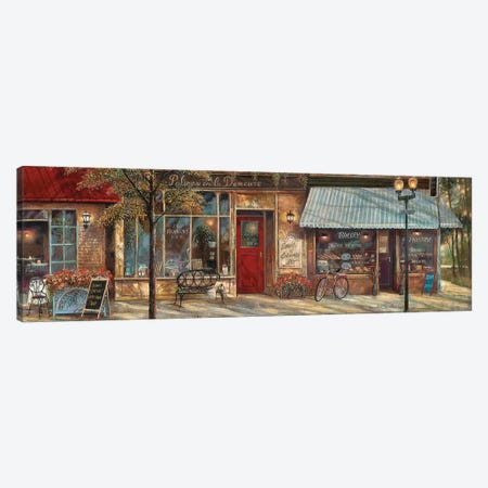 L'Ambiance II Canvas Print #RUA153} by Ruane Manning Canvas Wall Art