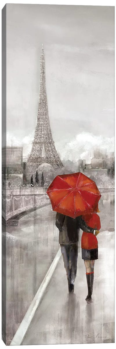 Paris Stroll Canvas Art Print