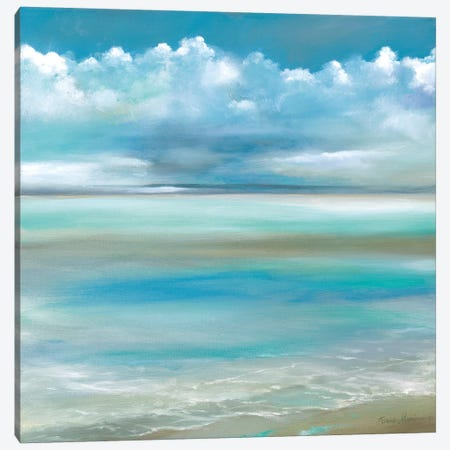 Tranquility by the Sea II Canvas Print #RUA159} by Ruane Manning Canvas Wall Art