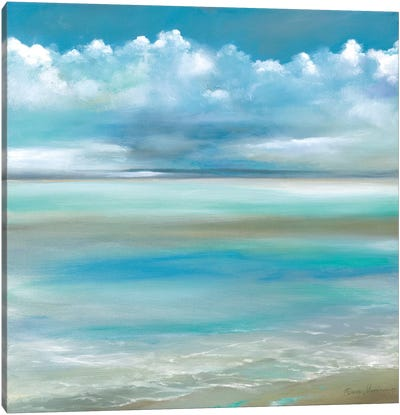 Tranquility by the Sea II Canvas Art Print