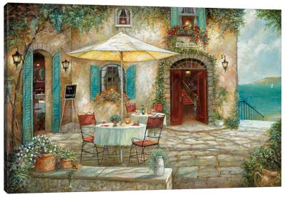 Casa d'Amore Canvas Art Print