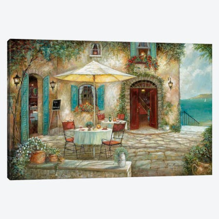 Casa d'Amore 3-Piece Canvas #RUA15} by Ruane Manning Art Print