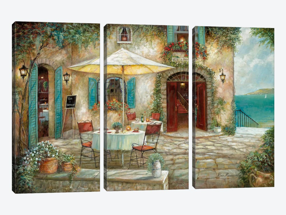 Casa d'Amore by Ruane Manning 3-piece Canvas Wall Art