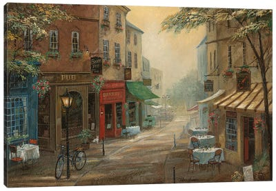Bogey's Pub Canvas Art Print